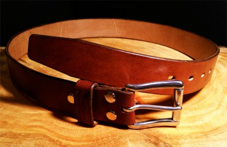 English leather belts