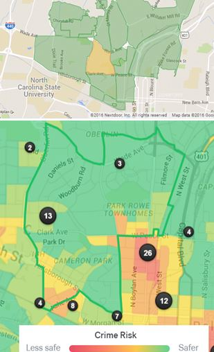 Featured Wake County Rental Neighborhood - Cameron Village, Raleigh, North Carolina