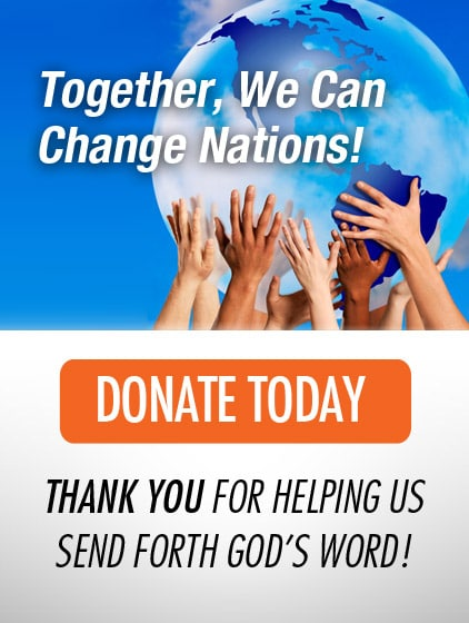 Donate: Help us Impact Lives, Cities, and Nations