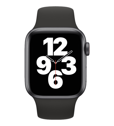 Apple Watch SE in Space Grey Aluminum