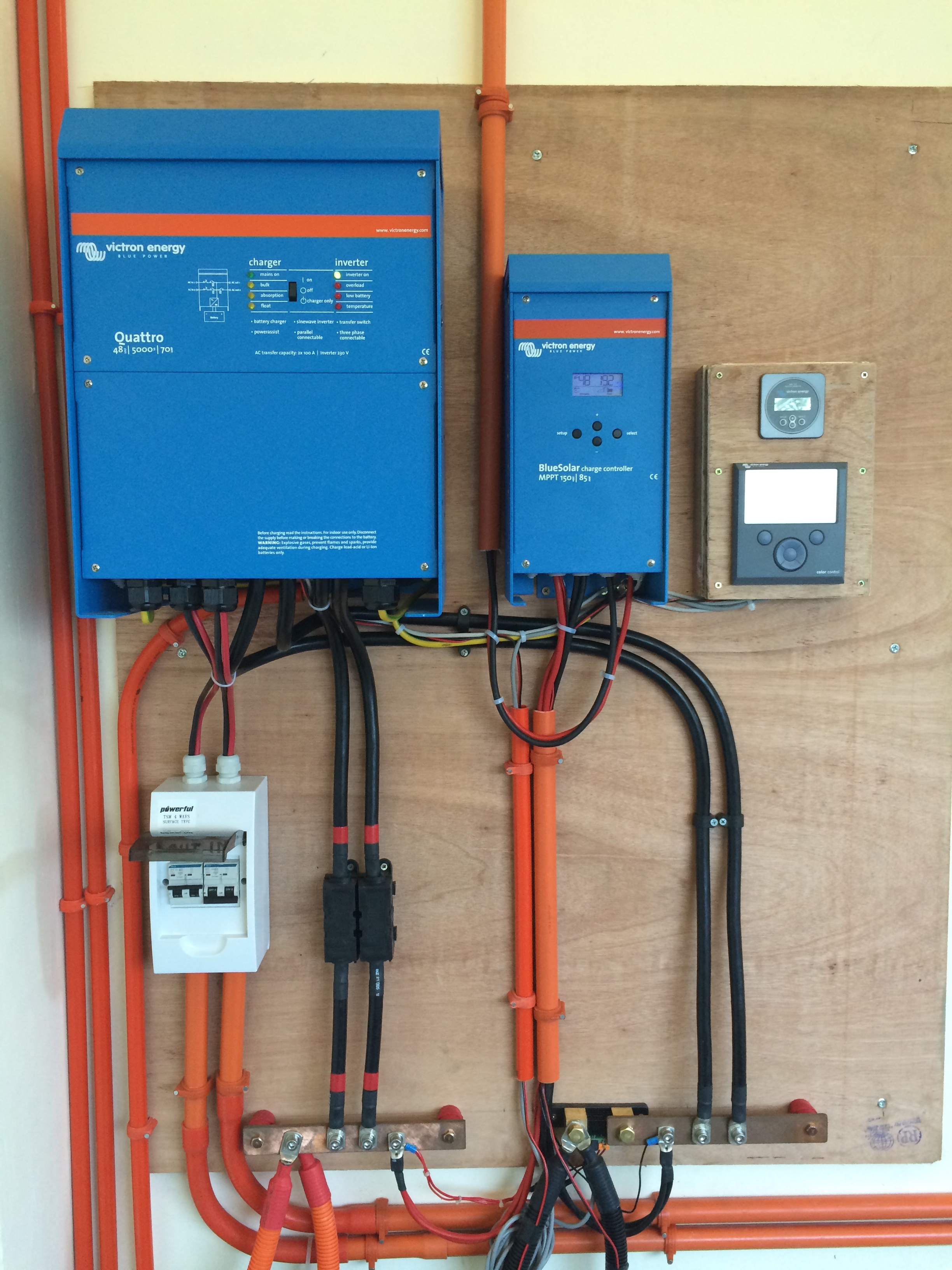 Air Conditioning Transformer Wiring Diagram Off Grid Apartments In The Philippines Victron Energy