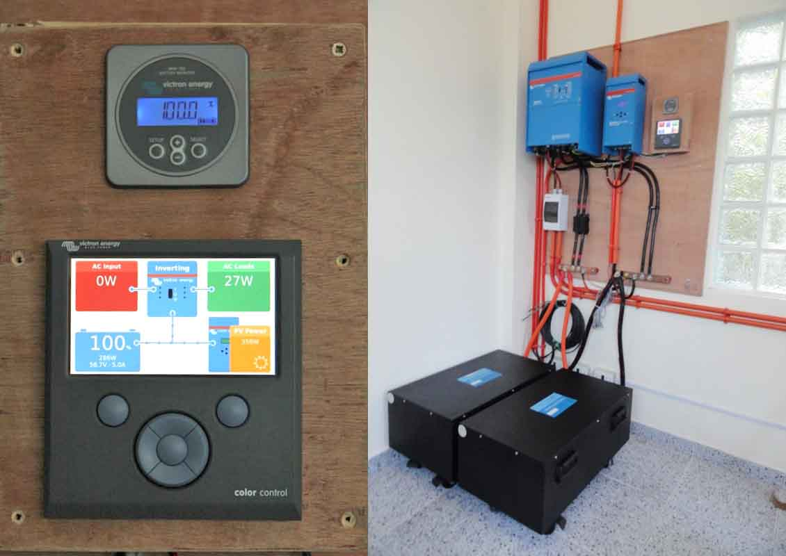 Rv Solar Battery Bank Wiring Off Grid Apartments In The Philippines Victron Energy