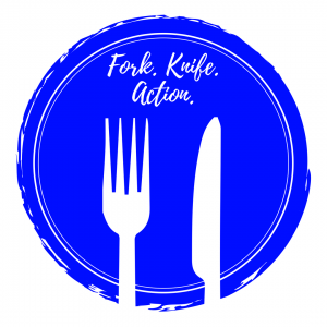 Forki. Knife. Action. - Logo