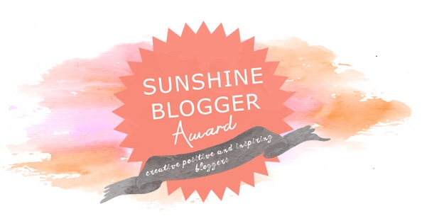 Third Award! ~ Sunshine Blogger ~