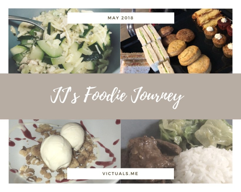 JJ's foodie journey – May 2018