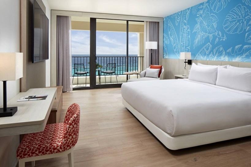 Curacao Marriott Beach Resort -Premium King Guest Room- Ocean View