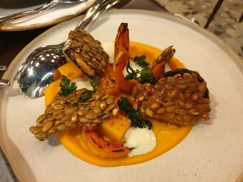Pumpkin with gorganzola