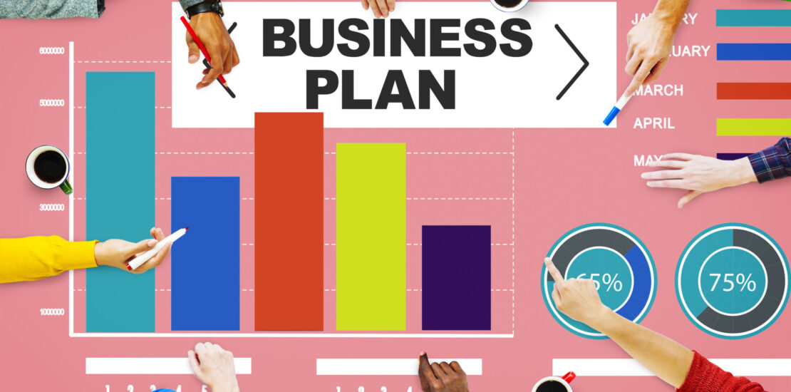 Business plan Bar Graph Data Development Information Concept