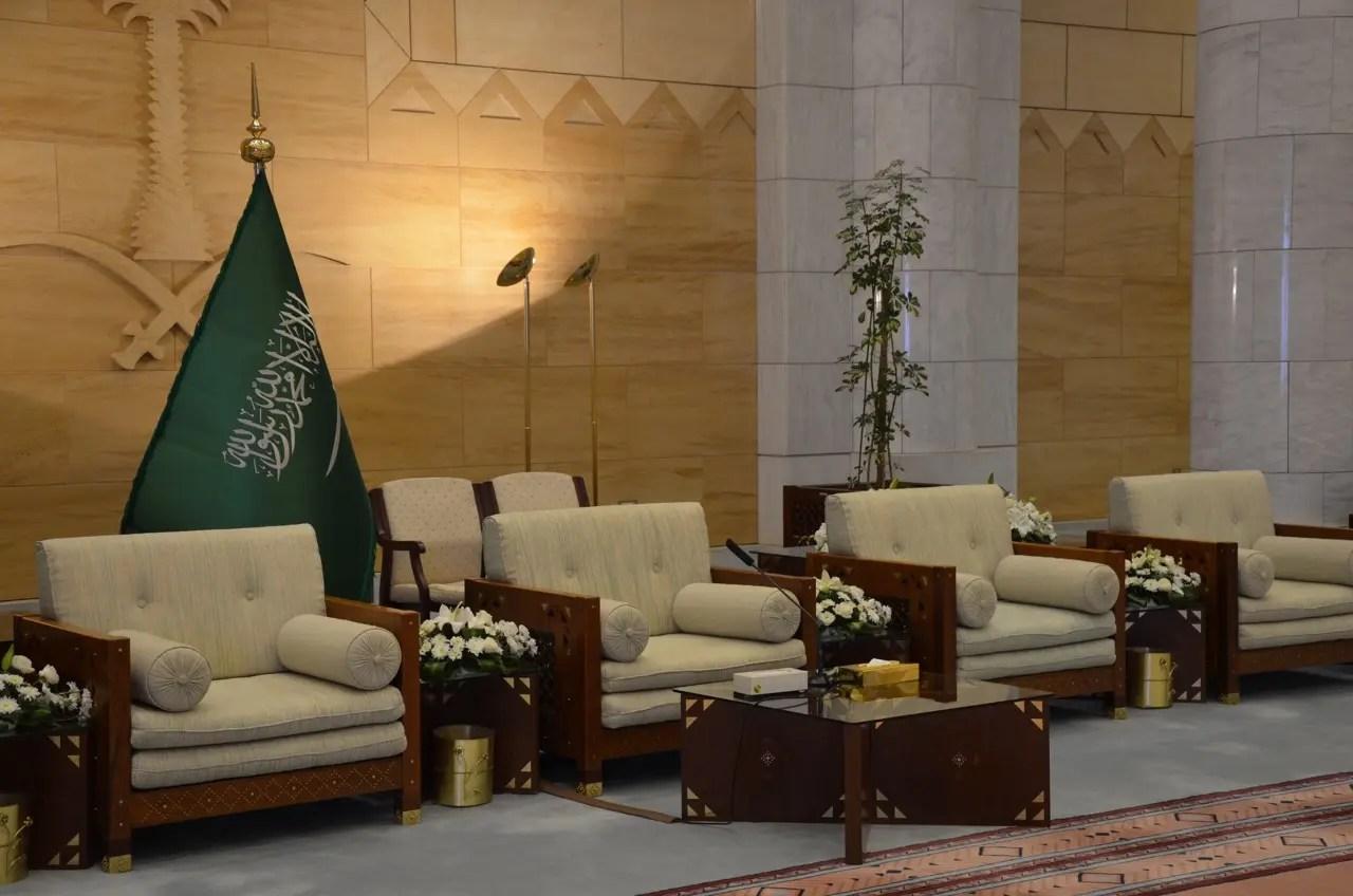 A Rare Look Inside The Enormous Qasr Al Hukm In Saudi