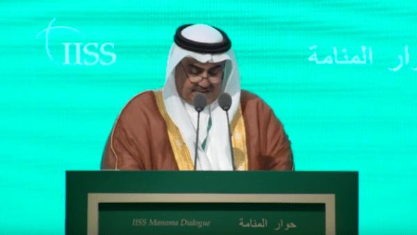 الشيخ خالد بن أحمد آل خليفة وزير الخارجية البحريني