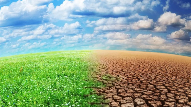 توضيح اثار التفاعلات الكيميائية علي البيئة وعناصر المناخ