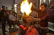 palestinian barber