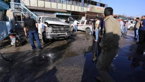 Image result for At least 30 killed in Iraq market attack