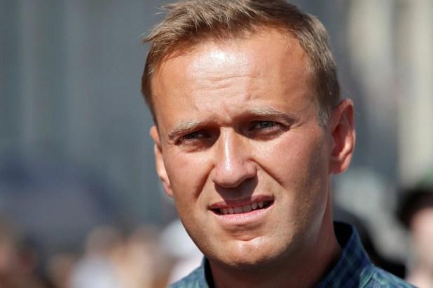 زعيم المعارضة الروسي أليكسي نافالني