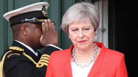 Bildergebnis für No Brexit Would be 'Catastrophe'- May Says