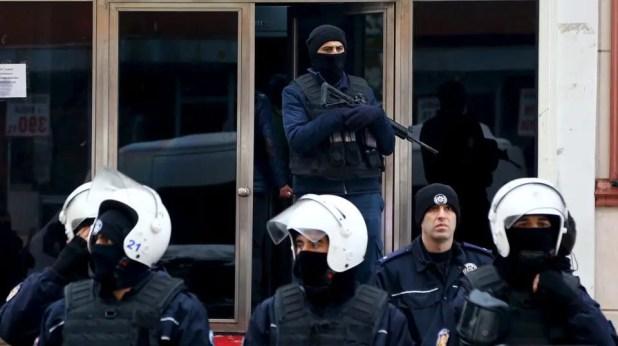 قوات من الأمن التركي