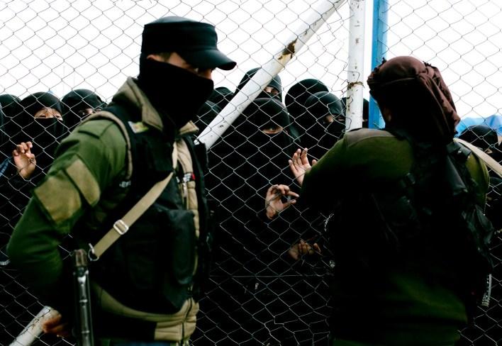 عائلات عناصر تنظيم داعش في مخيم الهول - اسوشيتد برس