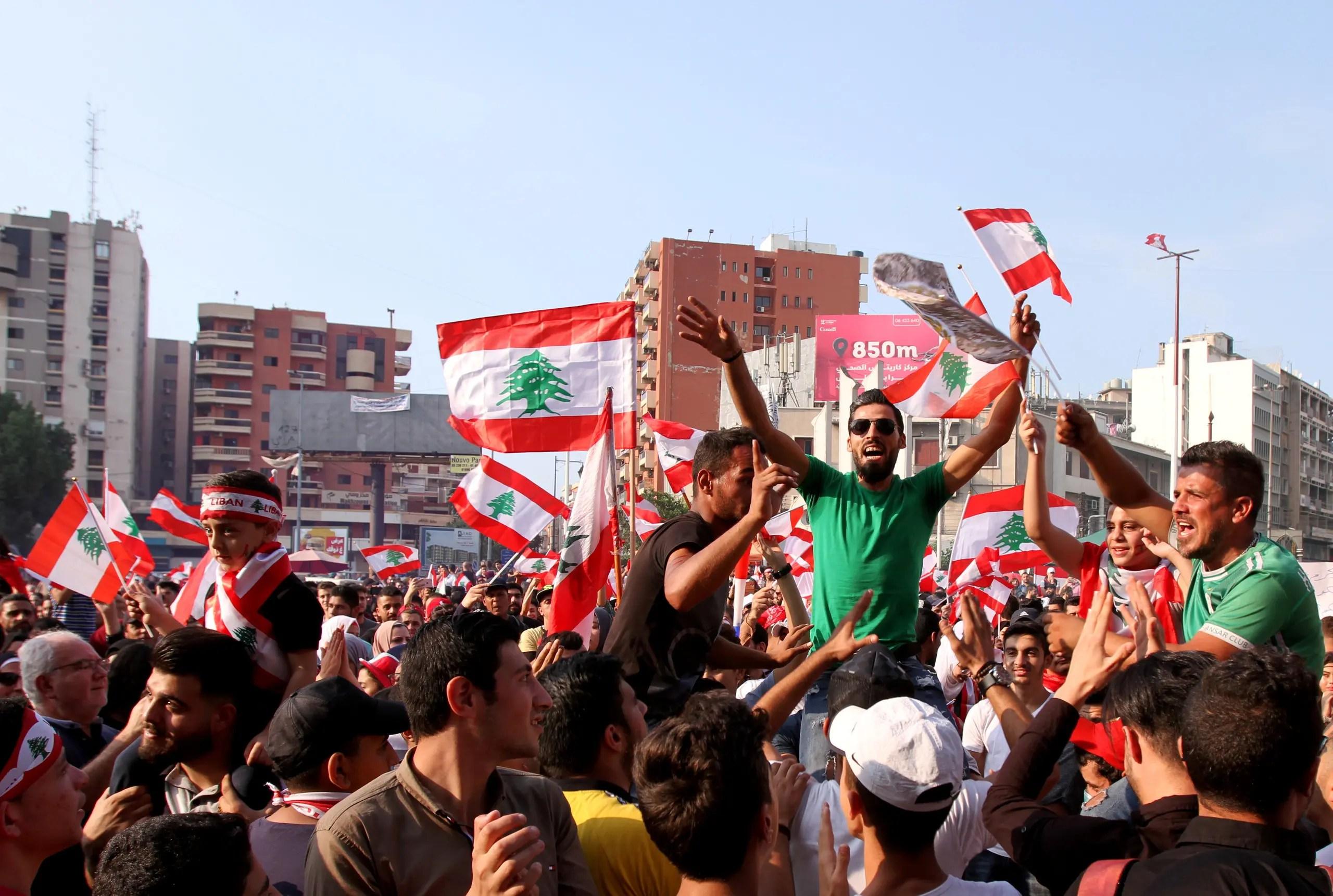 احتجاجات في طرابلس (أرشيفية- رويترز)