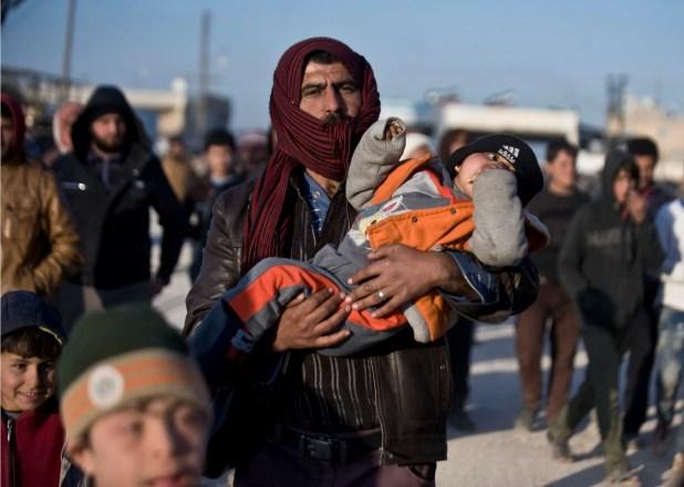 لاجئون سوريون في تركيا