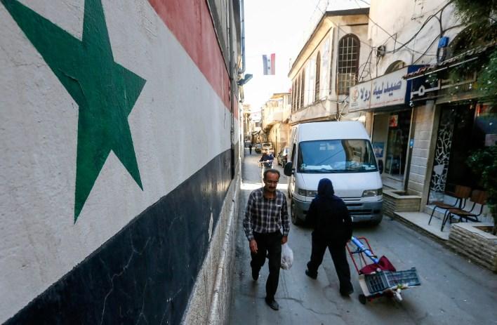 من دمشق (أرشيفية- فرانس برس)