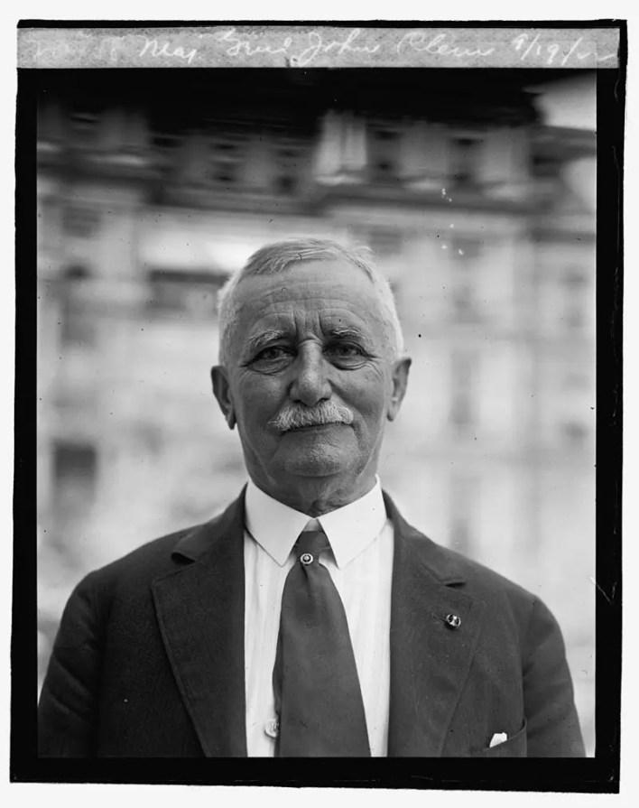 صورة لجون كليم سنة 1922
