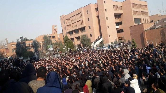 Iran protests January 13, 2020 ...