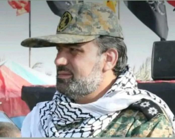 Colonel Abd al-Hussein Majdami, commander of the Basij militia in Ahvaz (archive)