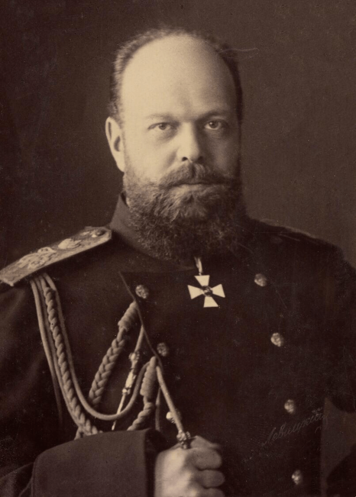 A picture of Russian Tsar Alexander III