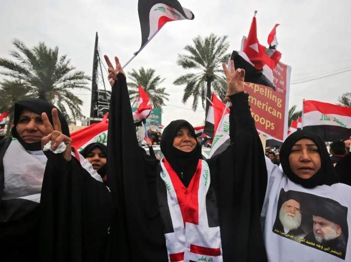 Baghdad protests January 24, AFP