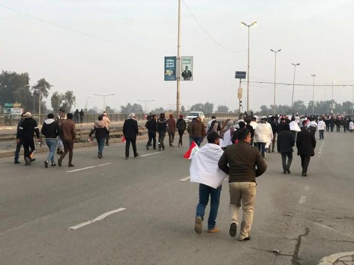 Ansar al-Sadr flocked to Baghdad
