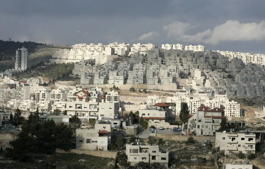 A picture shows housing units at at Har Homa Israeli settlement near the West Bank city of Bethlehem. (File photo: AFP)