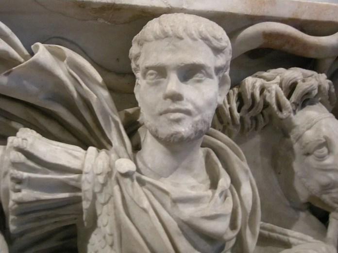 Statue of the Emperor Hostellian
