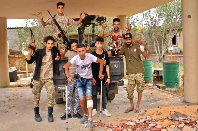 Militia members in Libyan Tripoli (archives - France Press)