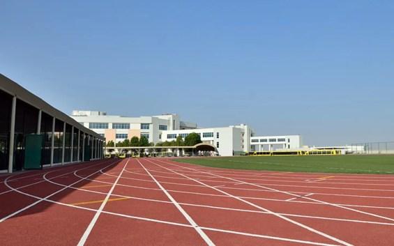 A Dubai school running track. (Dubai Sports Council)