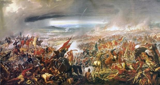 جانب من المعارك بحرب الباراغواي