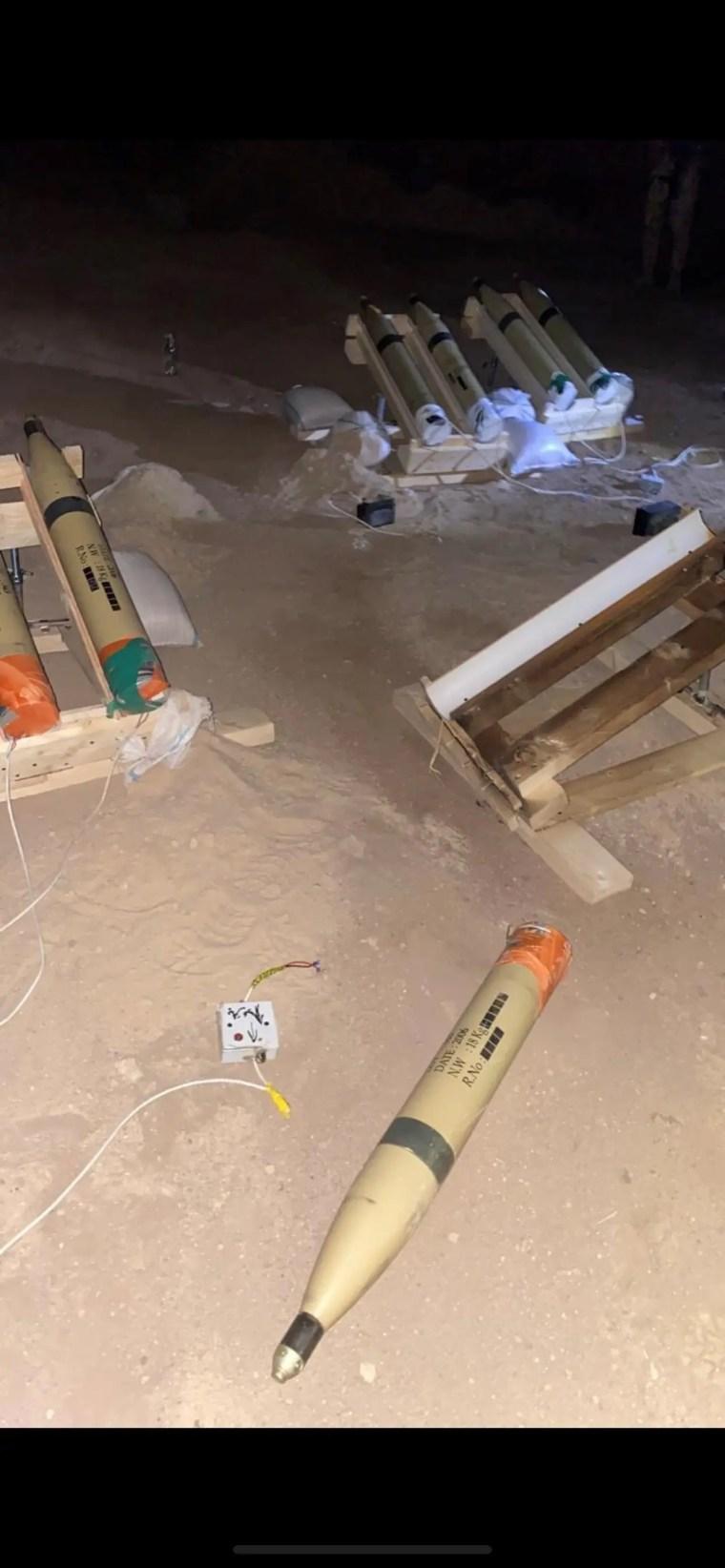 صواريخ كاتيوشا وسط بغداد