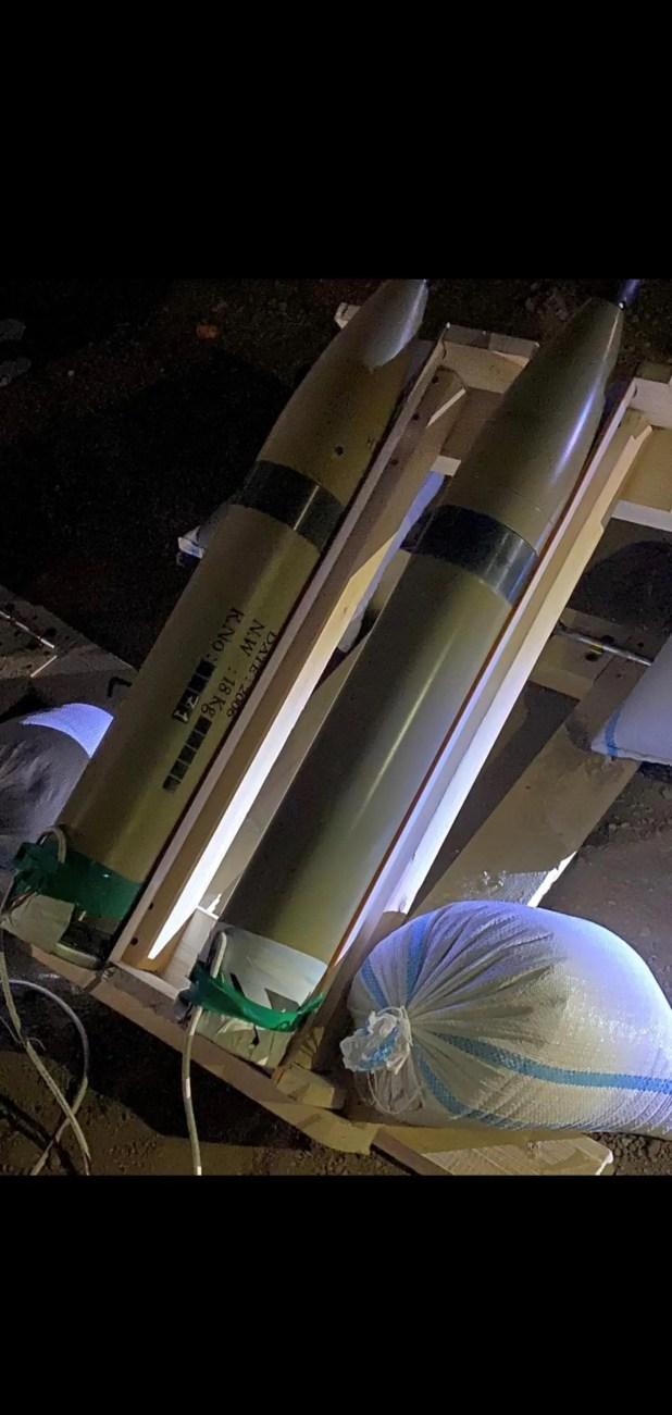 صواريخ كاتيوشا تم ضبطها وسط بغداد (أرشيفية)