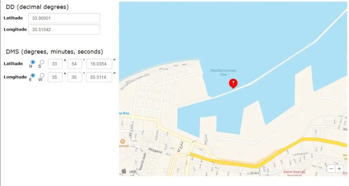 The map shows the last recorded location of the Roussos in 2014 on Google Drive
