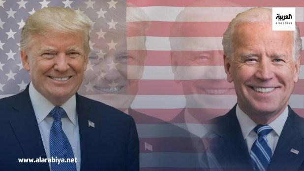 جو بايدن ودونالد ترمب مرشحا الانتخابات الأميركية