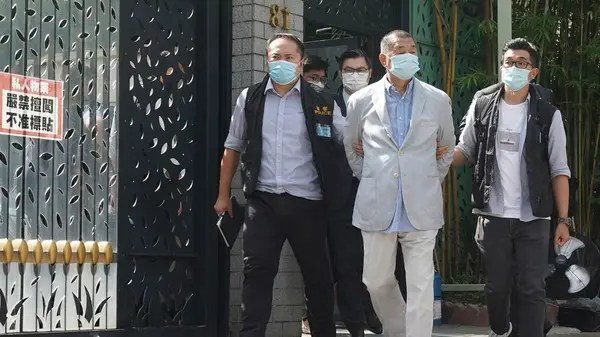 Hong Kong media tycoon Jimmy Lai arrested underneath controversial safety legislation