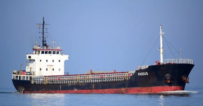 The ship was carrying ammonium nitrate
