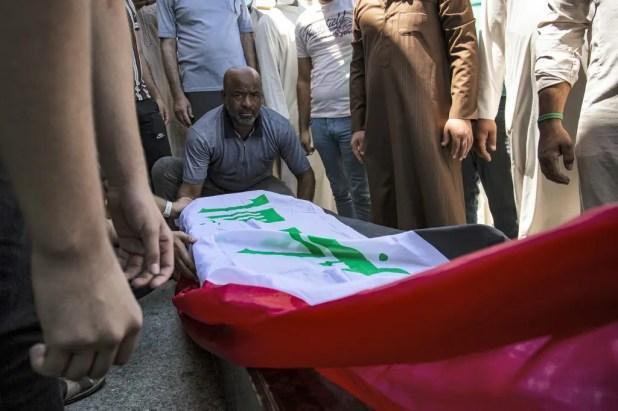 جثمان الناشطة الراحلة ريهام يعقوب - 20 أغسطس فرانس برس