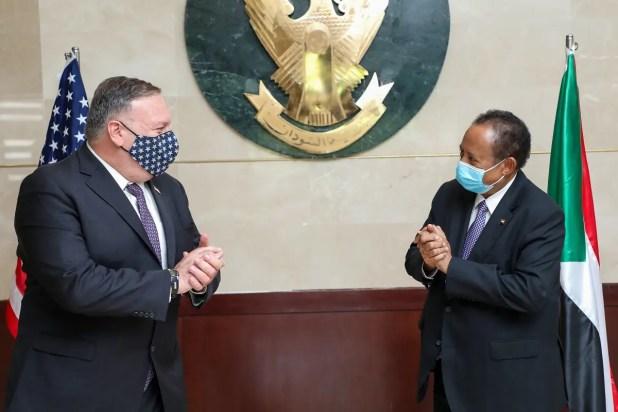 من زيارة وزير الخارجية الأميركية مايك بومبيو للسودان في أغسطس الماضي