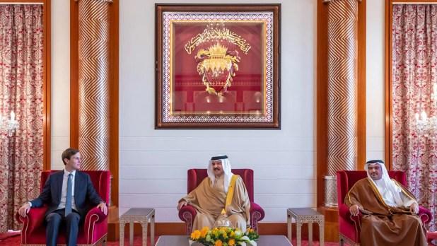 الملك حمد يستقبل جاريد كوشنر في المنامة في 1 سبتمبر