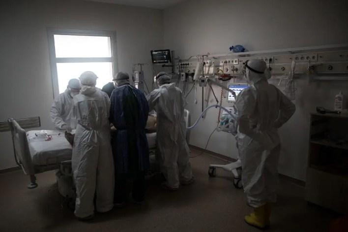 من إحدى مستشفيات اسطنبول - فرانس برس