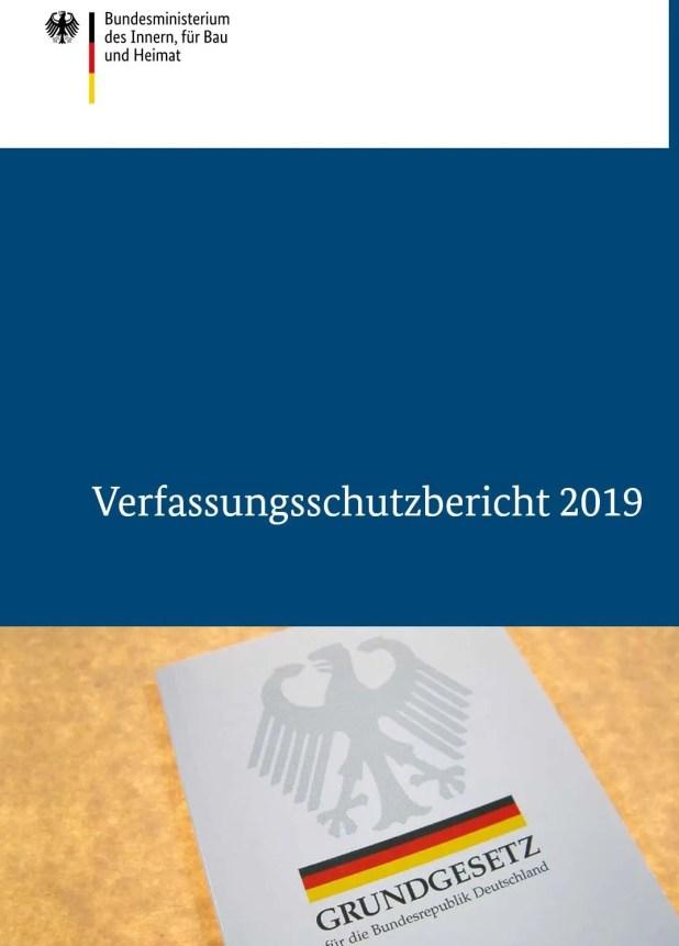 تقرير هيئة حماية الدستور ( الاستخبارات الداخلية الألمانية)