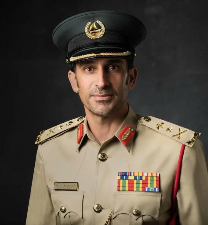 القائد العام لشرطة دبي الفريق عبدالله خليفة المري