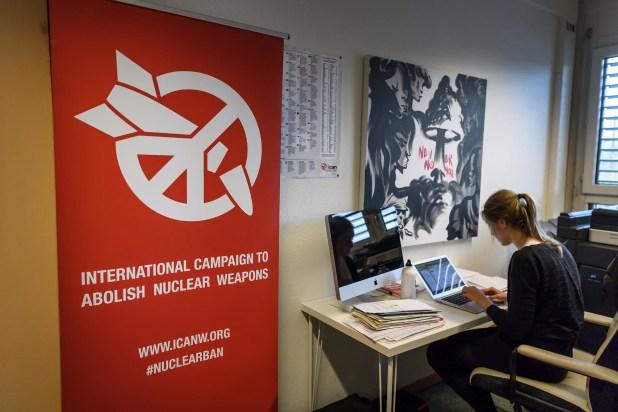 مكاتب الحملة الدولية للقضاء على الأسلحة النووية في جنيف