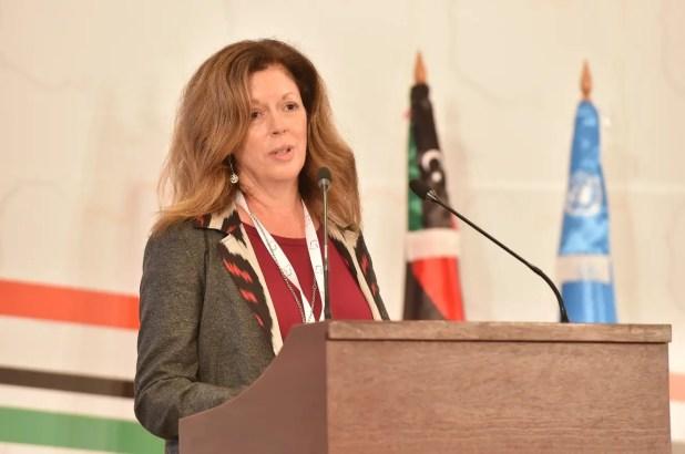 مبعوثة الأمم المتحدة إلى ليبيا بالإنابة ستيفاني ويليامز في الحوار الليبي