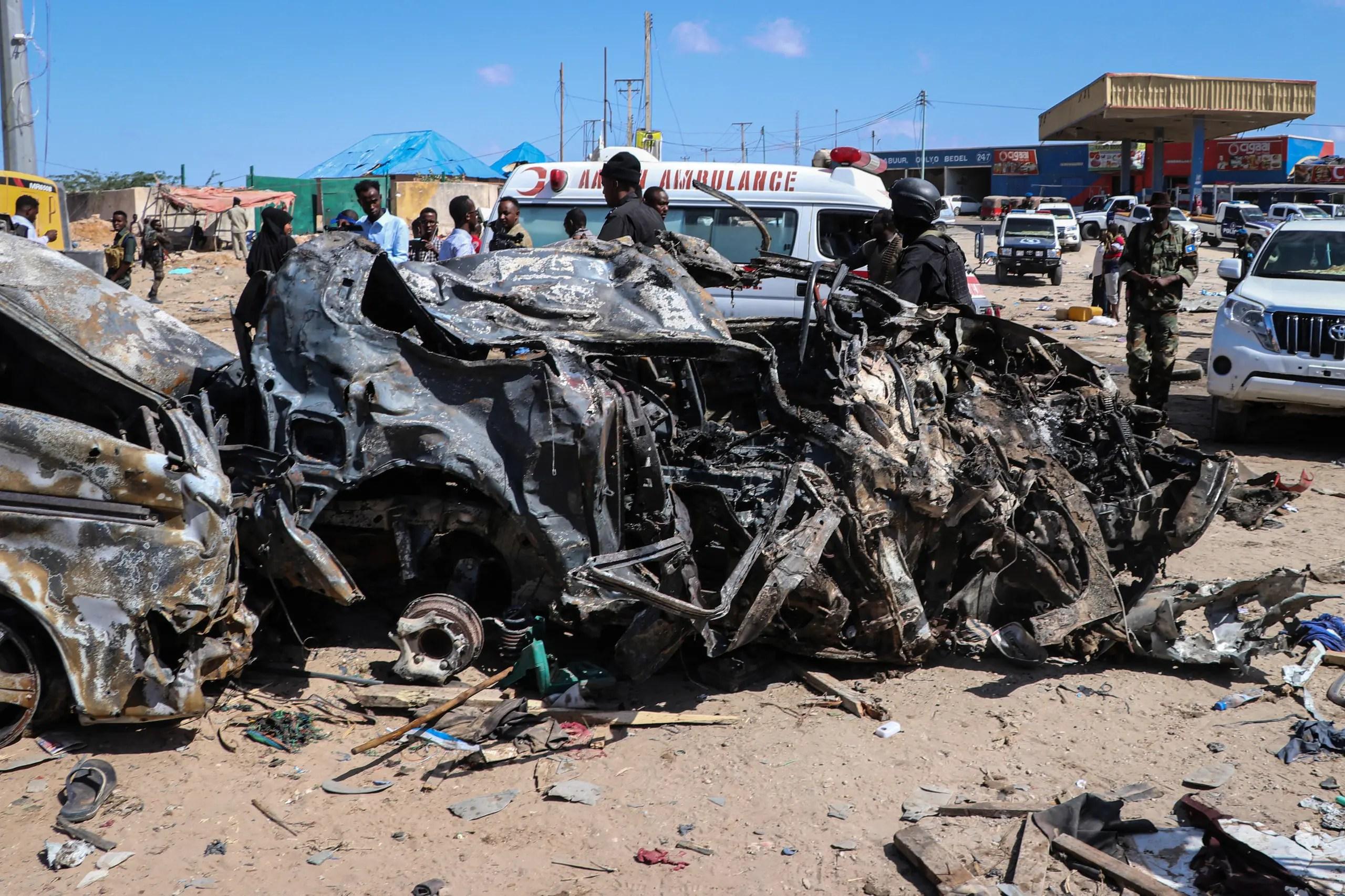 انفجار سيارة مفخخة في مقديشو في ديسمبر 2019